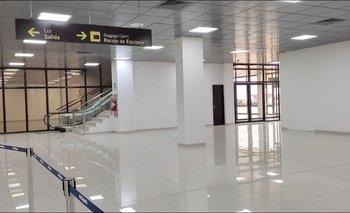 Inauguran ampliación del sector nacional del aeropuerto Viru Viru
