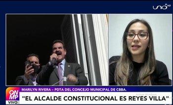 Rivera descarta que el Concejo Municipal de Cochabamba llame a nuevas elecciones