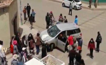 Oruro: Policía ebrio atropella a un transeúnte y le cercena la pierna