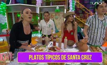 Bigote festeja el día de Santa Cruz con
