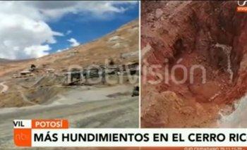 Concejala afirma que hay nuevos hundimientos en el Cerro Rico pide atención de las autoridades