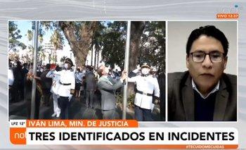 """Gobierno identifica a tres responsables de los presuntos delitos de discriminación y """"ultraje"""" a la wiphala"""