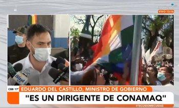 Ministro Eduardo Del Castillo lamenta el incremento de grupos racistas