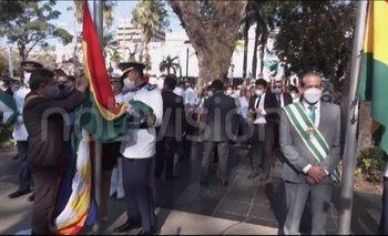 La Gobernación cruceña tilda de imposición la iza de wiphala y acusa al Gobierno de tergiversar los hechos