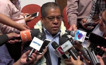 Suspenden al alcalde Leyes por 30 días, asume como suplente Tellería