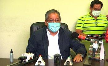 Tellería asume como alcalde suplente en ambientes del Pasaje Sucre
