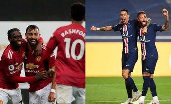 Champions League: Sigue el minuto a minuto PSG vs Manchester United