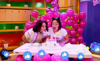 Lo que no se vio del cumpleaños viral
