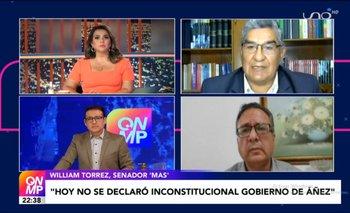 Senador del MAS afirma que hoy no se declaró inconstitucional al gobierno de Jeanine Añez