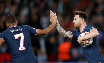Champions League: PSG remontó al Leipzig (3-2) con doblete de Messi