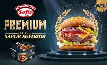 Sofía incorpora su nueva Hamburguesa Premium de carne de res a su portafolio de productos