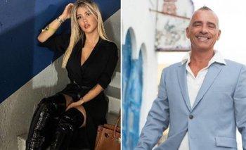 Eros Ramazzotti intentó consolar a Wanda Nara tras conocer crisis con Mauro Icardi