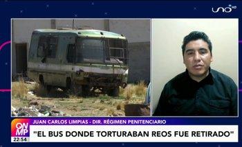 """Disponen el retiro de """"El Bus"""" vehículo donde presuntamente se torturaba a reclusos de Chonchocoro"""