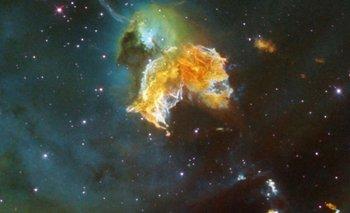La NASA descubre un supernova con una extraña figura que recuerda a Pac-Man