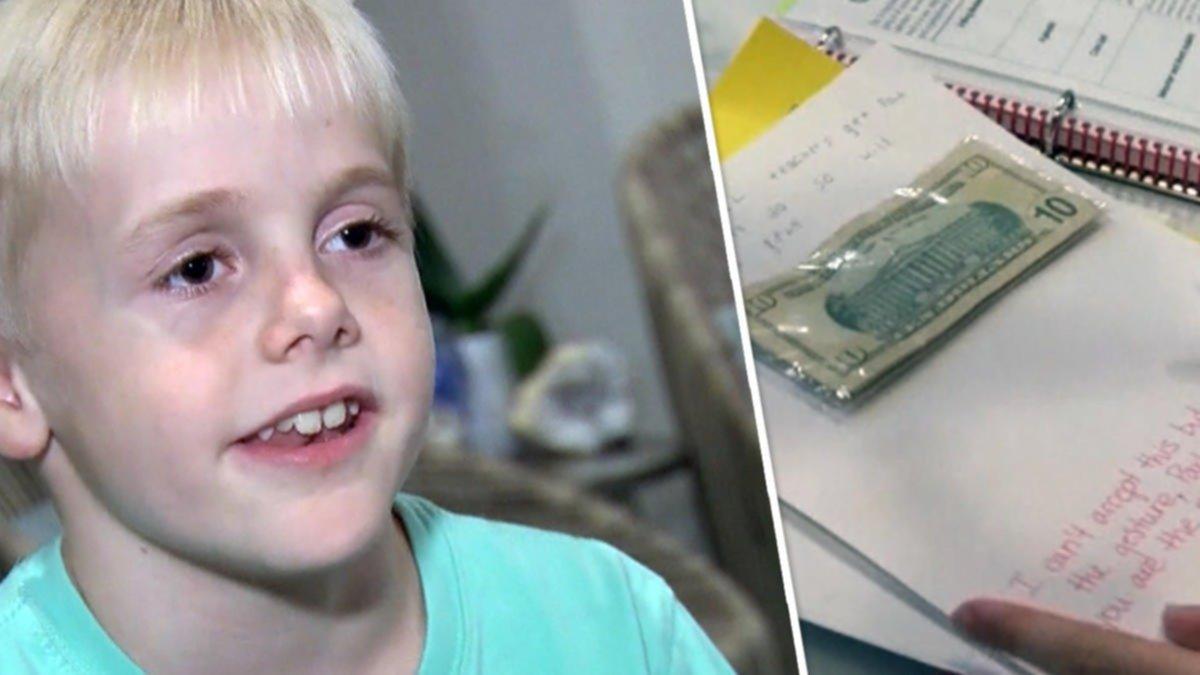 Le regalaron plata para su cumpleaños y decidió usarla para darle un aumento a su maestra