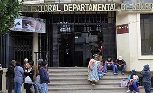 Dictan detención domiciliaria para dos vocales del TDE Oruro - Red Uno de Bolivia