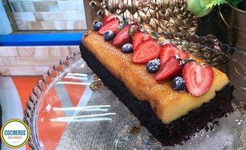 Torta imposible (Chocoflan)