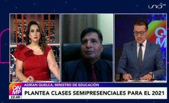 Ministro de Educación plantea clases semipresenciales para 2021