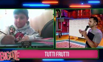 BIGOTE EL SHOW: Kevin resultó ser el maestro de las trampas en el 'Tutti-frutti'