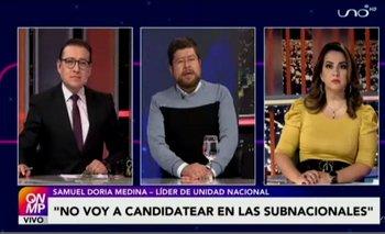 Doria Medina descarta su candidatura en las elecciones subnacionales