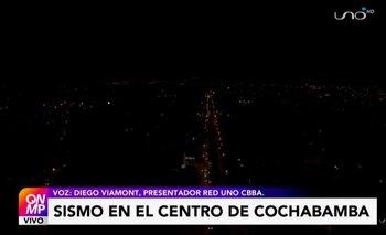 Reportan sismo de magnitud de 3,5 en el centro de la ciudad de Cochabamba