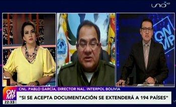 Interpol aclara que aún no se activó la notificación de sello azul para Murillo y López