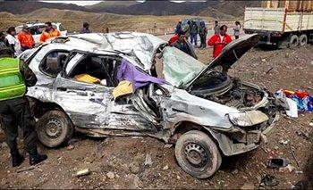 Muere una familia que viajaba a Oruro para alentar a San José