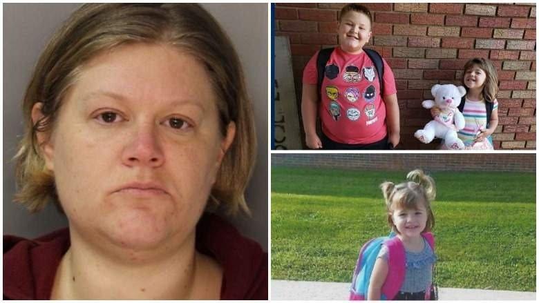 Arrestan a madre cuyos hijos fueron encontrados colgados en su casa