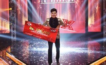 Daril es el triunfador de la cuarta temporada de Factor X
