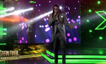 Matamba estrenó su bolero en el escenario de Factor X