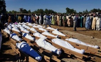 110 civiles fueron masacrados por Boko Haram en Nigeria