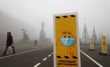 Rusia dice que ya se han vacunado más de 100.000 personas contra el COVID-19
