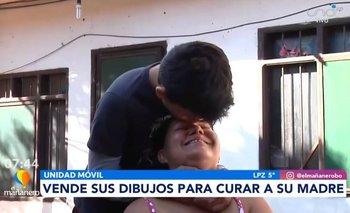 ¡Si se pudo! Carlos Mateo logró juntar el dinero necesario para operar a su madre