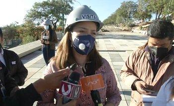 Concejales inspeccionan trabajos de revitalización de la Coronilla