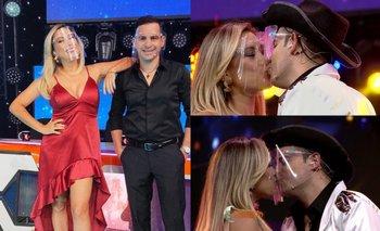 VIDEO: El increíble beso de Grisel y Ronico