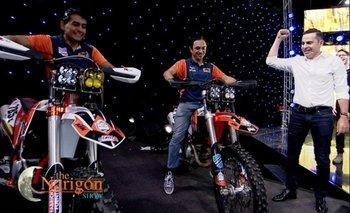VIDEO: Dos campeones de la velocidad visitaron el programa